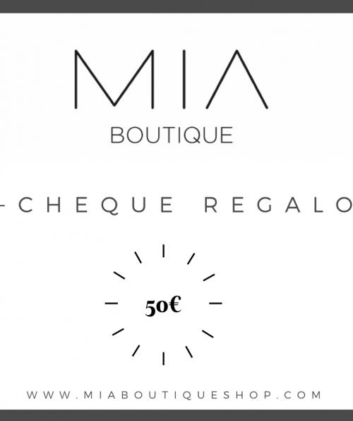 ECHEQUE REGALO 50EUR