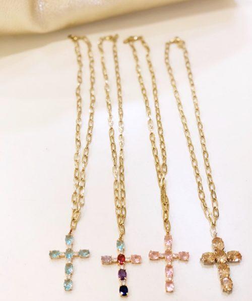 cruz cadena dorada